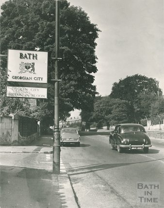 Grosvenor, London Road. The gateway to Bath from the East, c.1968