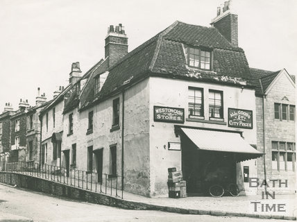 Weston Post Office, Trafalgar Road, Weston, Bath, c.1910?