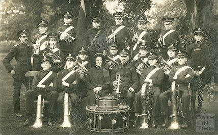 Bath Salvation Army Band, c.1900