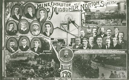 The Mine Disaster at Midsomer Norton, April 9th 1908