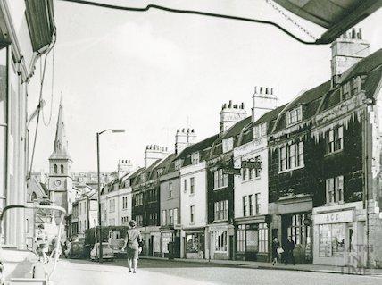 Widcombe Parade, Bath, c.1955
