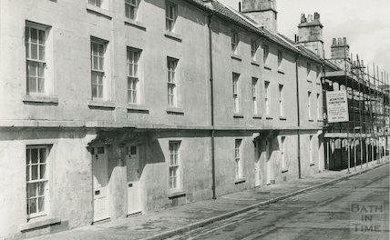 Ralph Allen's Row, Prior Park Road after restoration, 5 July 1982