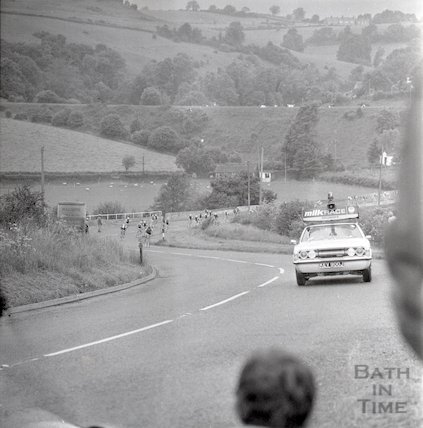The Milk Race in Bath, 8 June 1971