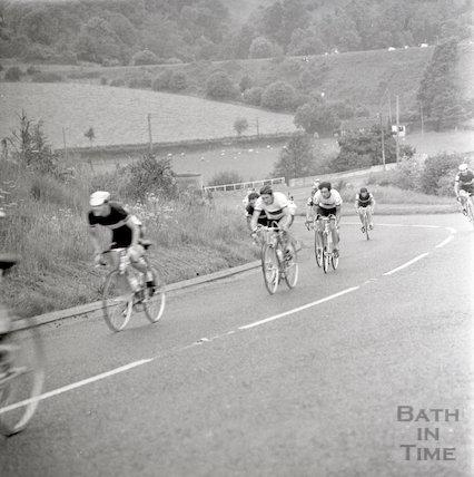 The Milk Race in Bath, 8 June 1971