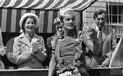 The Milk Race in Bath, 27 May 1975