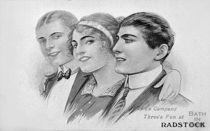 Radstock postcard, 1914