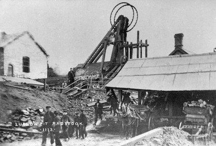 Lublow Pit, Radstock, c.1900s