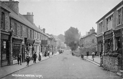 Midsomer Norton shops, c.1910s