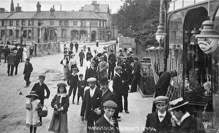 Radstock Market, c.1900s