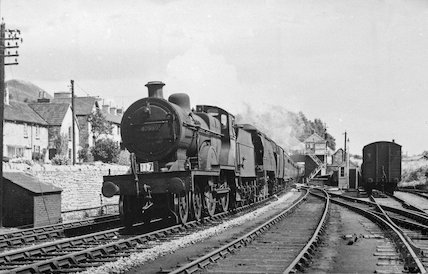 Engine no.40569 in the Radstock area, c.1950s?
