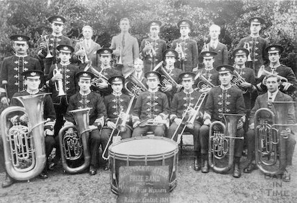 The Radstock Amateur Prize Band contest winners, 1924