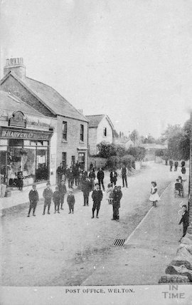 W Harvey's, Drapers and Post Office, Welton, Midsomer Norton, c.1900s