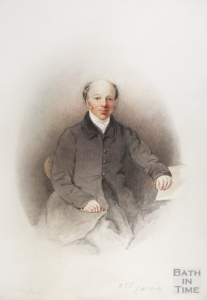 Portrait of H T Ellacombe by Mrs Sealy, 1850