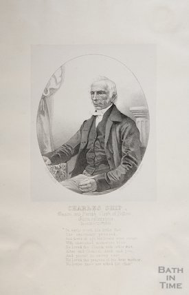 Portrait of Charles Ship Parish Clerk of Bitton 1823-53, c.1848?