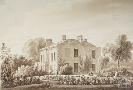 Bitton Vicarage viewed from South East c.1820?
