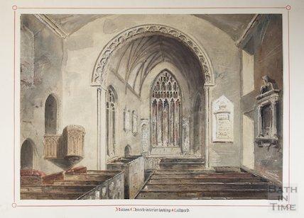 Interior of St Mary's, 1846