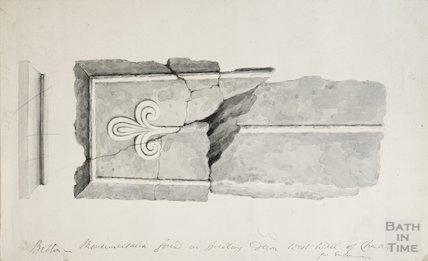 Masonry fragments, 1850