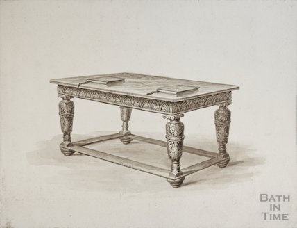Jacobean style table unknown