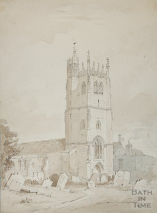 St Mary's Church Bitton by Carlyle Britton