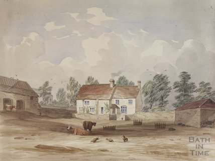 Church Farm Bitton, 1820?