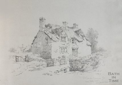 Cottage on Oldlands Common, now pulled down, date unknown