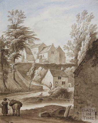 Oldland Church old church destroyed, 1827