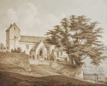 Oldland Church old church destroyed, 1827 prior to, 1829