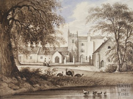 Hanham Court, 1830s?