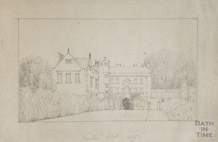 Hanham Abbots Hall, 1825