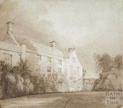 The Grange Bitton previously the Rectory and Prebendal Manor 19C about, 1830