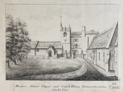 Hanham Abbots Chapel and Court House, North View