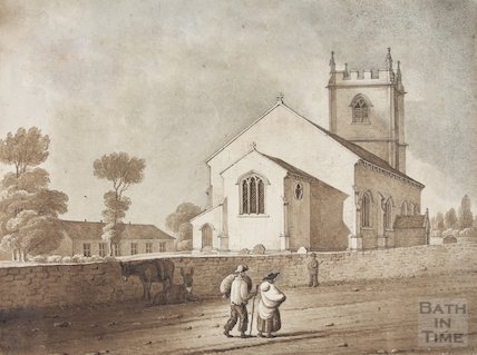 Kingswood Church post, 1821