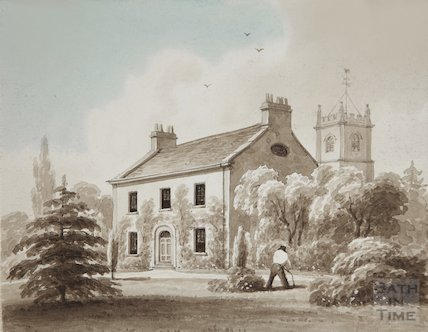Kingswood Vicarage post, 1821