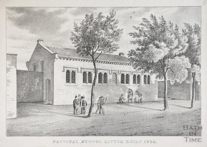 Church Hall Bitton, 1830s