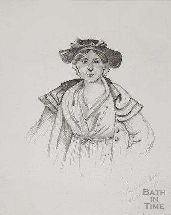 Market woman Kingswood, December 1841