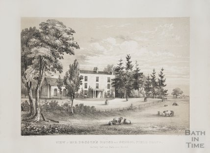 Mr Pocock's House and School , Field Grove House, Bitton