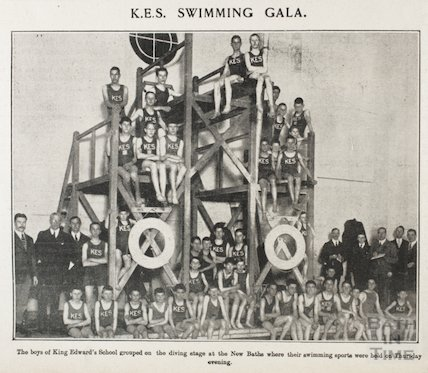 The King Edwards School Swimming Gala, New Baths, Bath, 1923