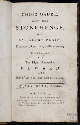 Frontispiece to Choir Gaure, by John Wood the Elder, 1747