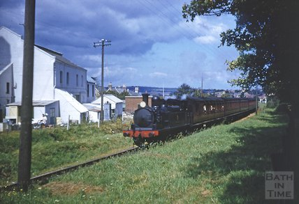 Isle of Wight Steam train, c.1959