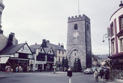 St Leonard's Tower, Newton Abbot, Devon, c.1960s