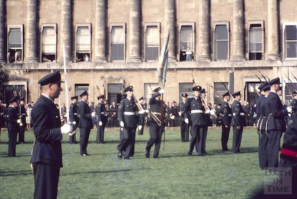 RAF Parade, Royal Crescent, Bath, c.1970s
