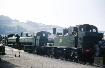 Engine 1420 from the Dart Valley, South Devon Railway, c.1960s