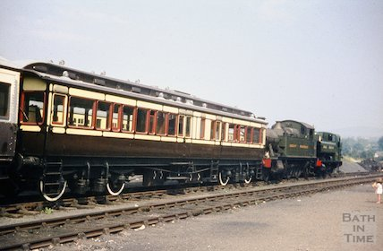 The South Devon Railway with Great Western carriage, c.1960s
