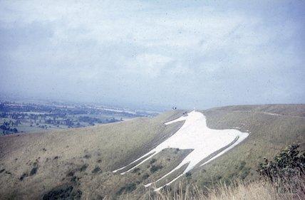 The White Horse at Westbury, c.1960s