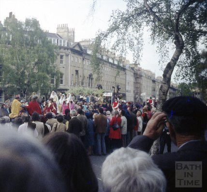 A Royal Pageant at Laura Place, 1973