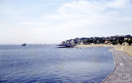 Clevedon and pier, 21 June 1959