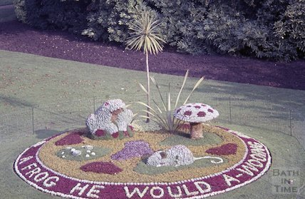 Bath in Bloom floral display, c.1960s