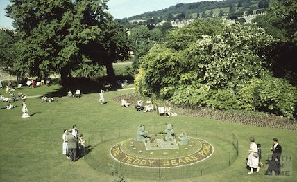 Bath in Bloom floral display, Parade Gardens, c.1960s