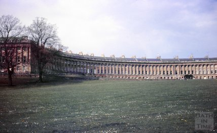The Royal Crescent, Bath, c.1970s