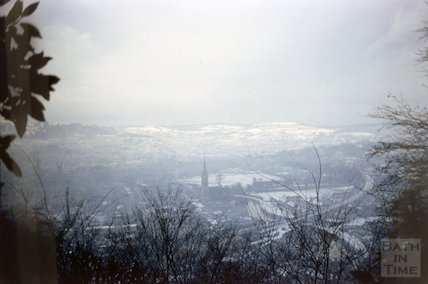 View of Bath from Beechen Cliff, 1963
